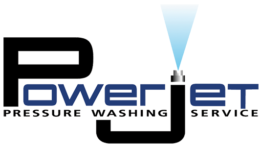 Power Jet Pressure Washing Service Logo
